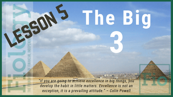 Fiology Lesson 5: The Big Three
