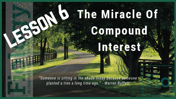 Fiology Lesson 6: The Miracle of Compound Interest