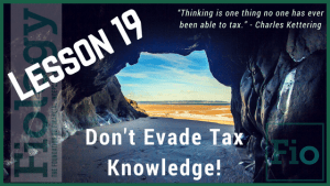 How do taxes work? Don't evade tax knowledge! - Fiology
