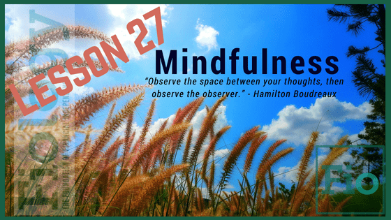 Fiology Lesson 27: Mindfulness