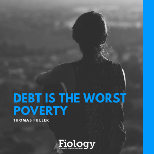 Debt is the worst poverty