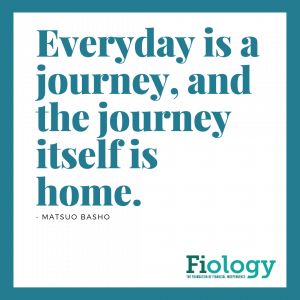 Every day is a journey, and the journey itself is home