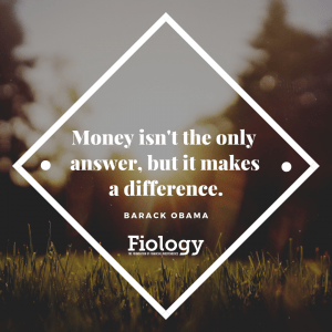 Money isn_t the only answer, but it makes a difference