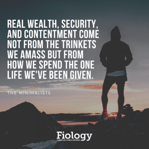 Real wealth, security, and contentment