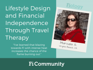 Lifestyle Design and Financial Independence Through Travel Therapy by Marcela S.