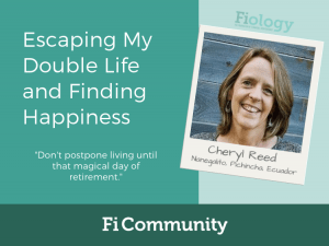 Escaping My Double Life and Finding Happiness by Cheryl Reed