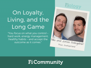 On Loyalty, Living, and the Long Game by Nils and Jonas Salzgeber