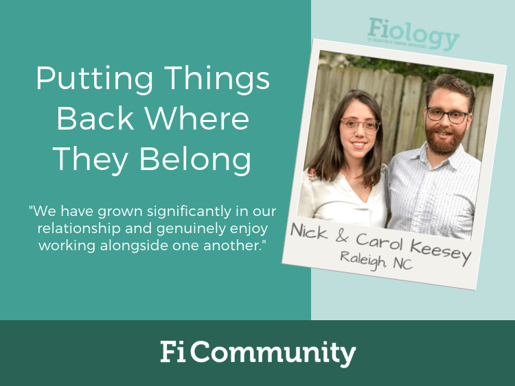 Putting Things Back Where They Belong by Nick and Carol Keesey