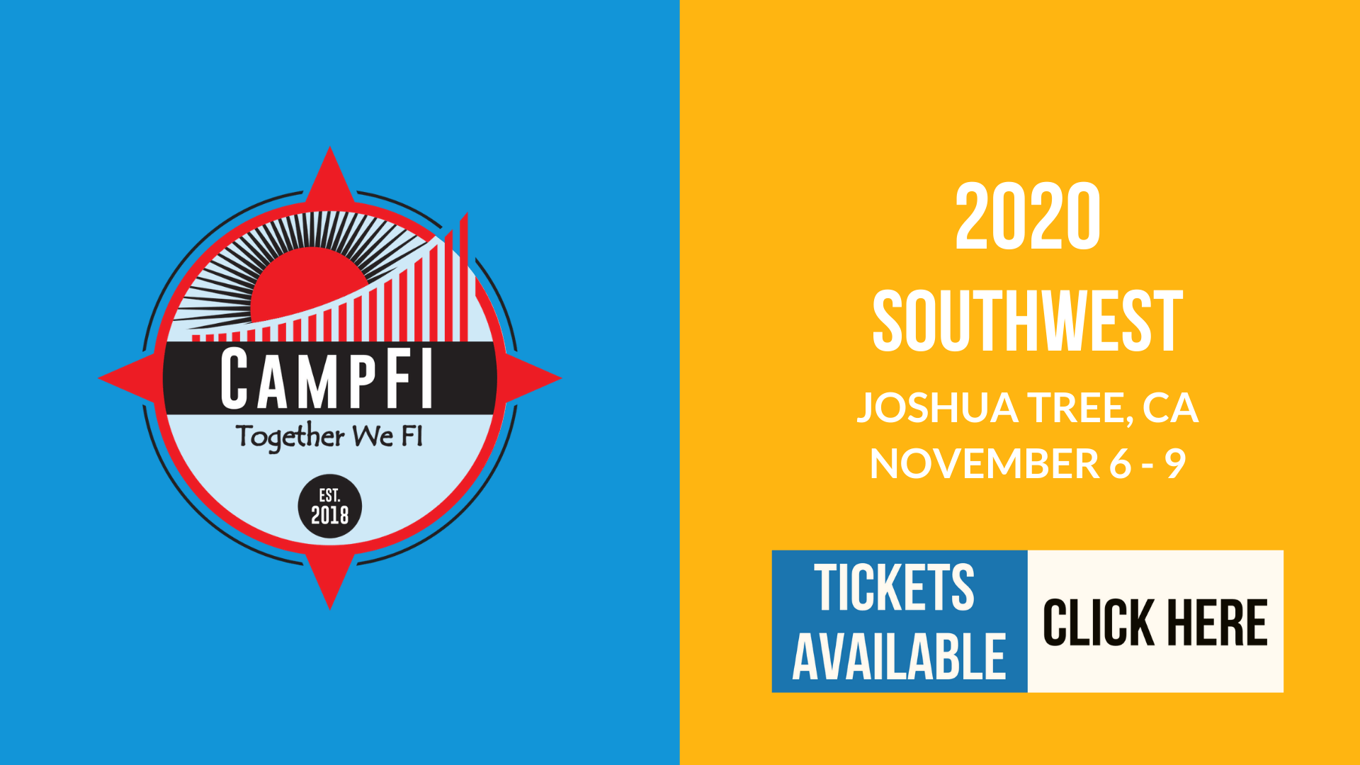 CampFI Southwest 2020 - Tickets - Fiology