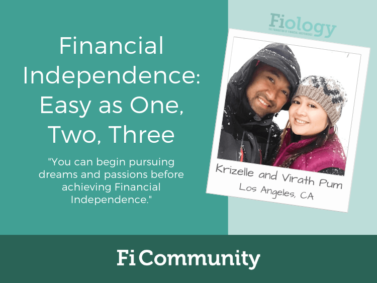 Financial Independence: Easy as One, Two, Three by Krizelle Pum - Fiology
