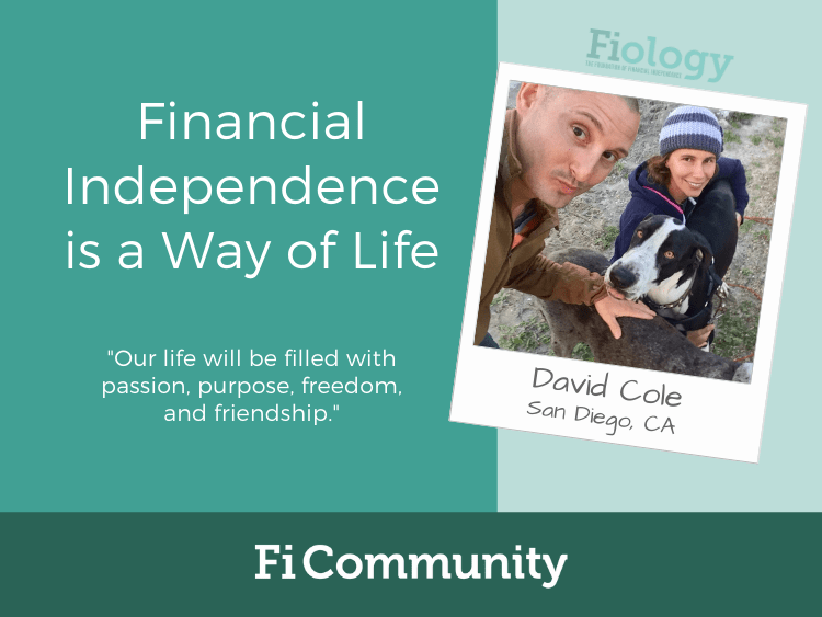 Financial Independence is a Way of Life by David Cole - Fiology