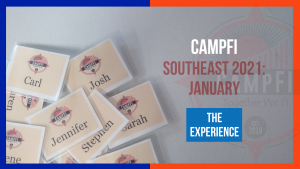 CampFI Southeast 2021 January - The Experience - Fiology