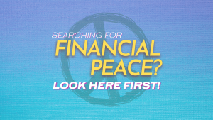 Searching for Financial Peace Look Here First! - Fiology