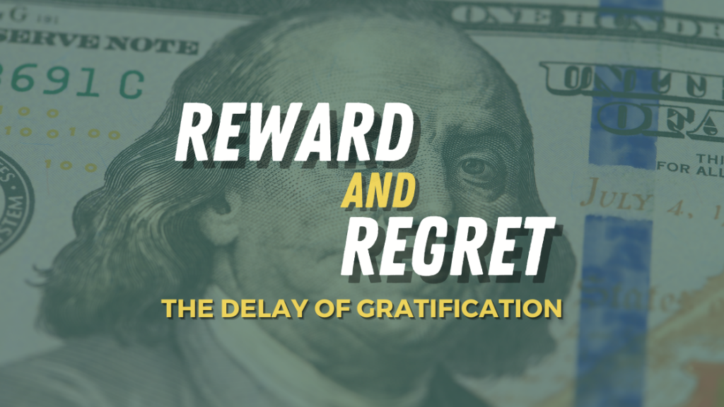 The Delay of Gratification - Reward and Regret by Amberly Grant - Fiology